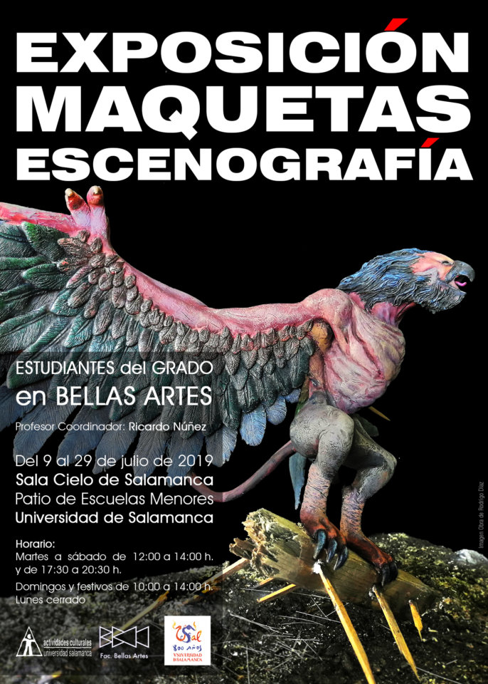 Escuelas Menores Exposición de Maquetas de Escenografía Salamanca Julio 2019