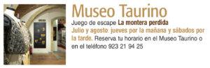 Museo Taurino La montera perdida Plazas y Patios 2019 Salamanca Julio agosto