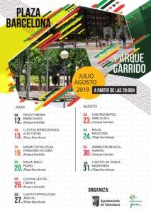 Salamanca Actividades de Verano en Garrido 2019
