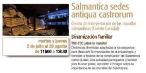 Salmantica Sedes Antiqua Castrorum Toc-toc ¡Abre la muralla! Plazas y Patios 2019 Salamanca Julio agosto