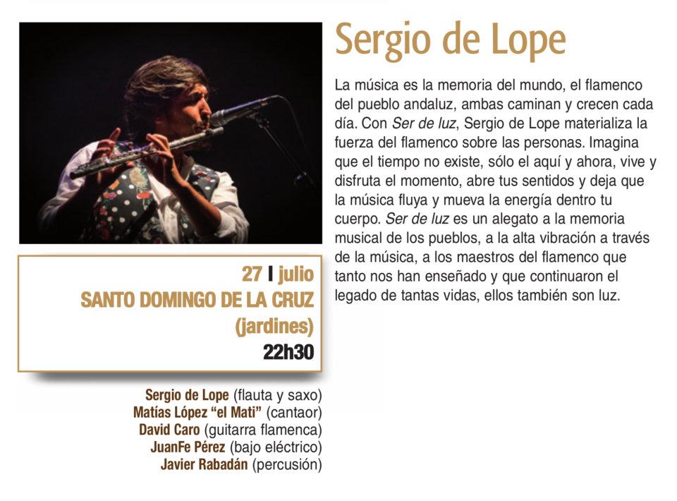 Santo Domingo de la Cruz Sergio de Lope Plazas y Patios 2019 Salamanca Julio