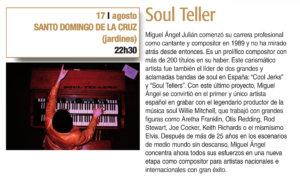 Santo Domingo de la Cruz Soul Teller Plazas y Patios 2019 Salamanca Agosto