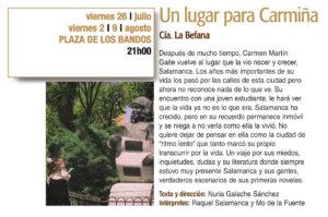 Plaza de los Bandos La Befana Plazas y Patios 2019 Salamanca Julio agosto