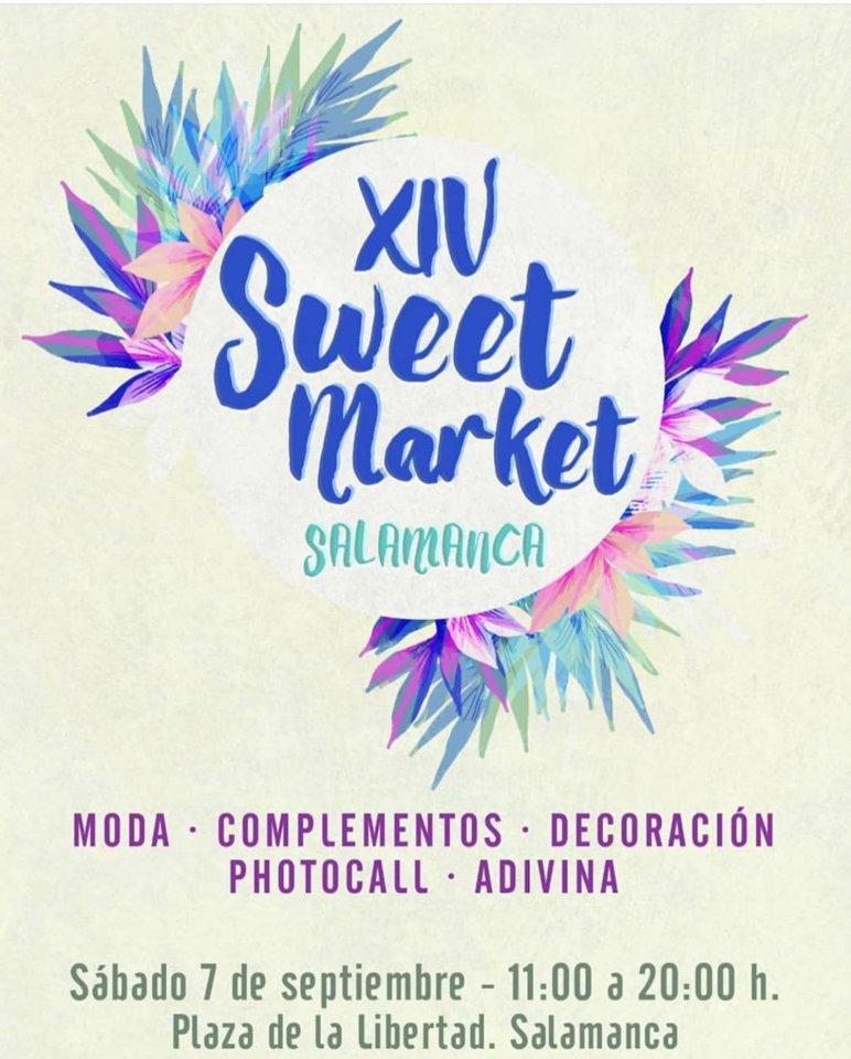 Plaza de la Libertad XIV Sweet Market Salamanca Septiembre 2019