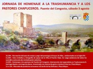 Puente del Congosto Jornada de Homenaje a la Trashumancia y a los Pastores Chapuceros Agosto 2019