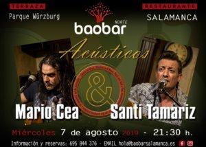 Baobar Norte Mario Cea & Santi Tamariz Salamanca Agosto 2019