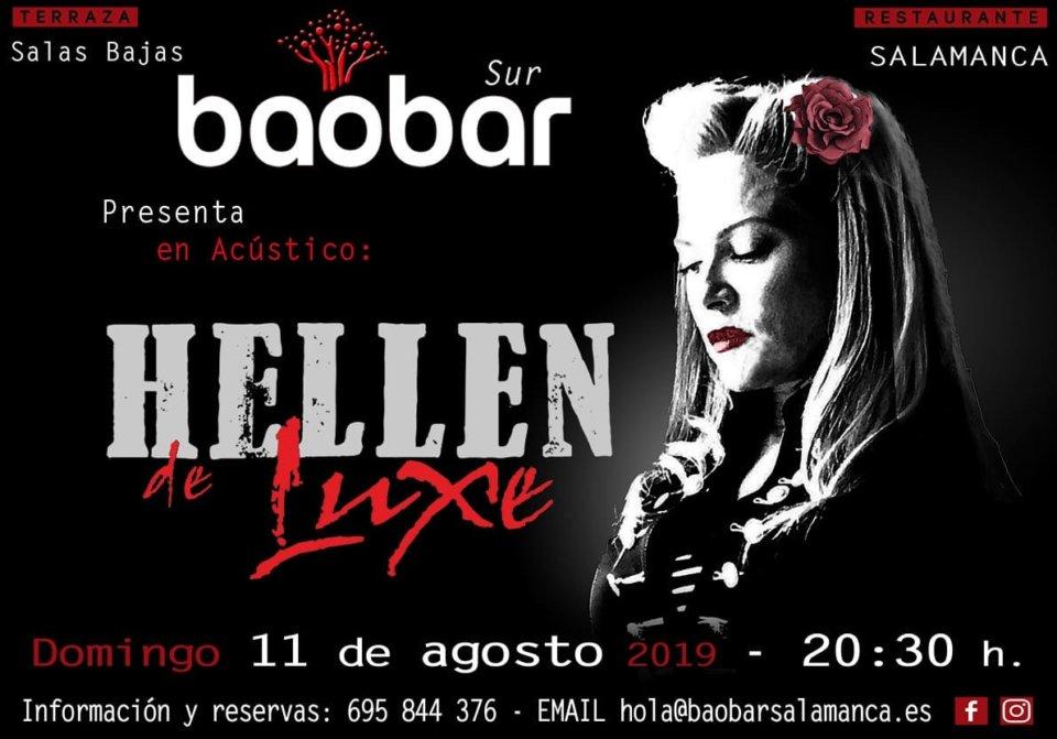 Baobar Sur Hellen de Luxe Salamanca Agosto 2019
