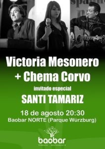 Baobar Norte Victoria Mesonero + Chema Corvo + Santi Tamariz Salamanca Agosto 2019