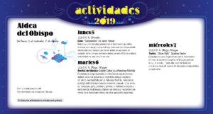 Aldea del Obispo Noches de Cultura Agosto 2019