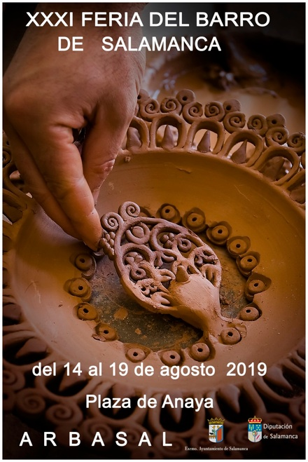 Plaza de Anaya XXXI Feria del Barro ARBASAL Salamanca Agosto 2019