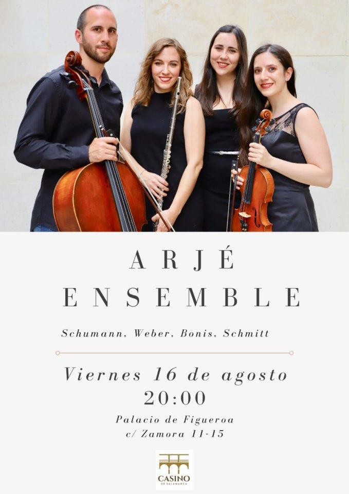 Casino de Salamanca Arjé Ensemble Agosto 2019