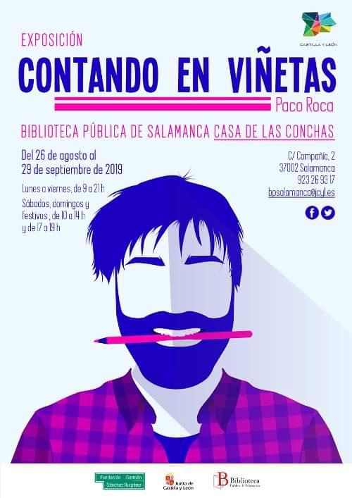 Casa de las Conchas Contando en viñetas Salamanca Agosto septiembre 2019