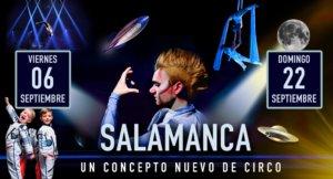 Ferias y Fiestas 2019 Stellar Circus Salamanca Septiembre