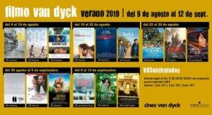 Cines Van Dyck Joven Filmo Van Dyck VOS Agosto septiembre 2019 Salamanca