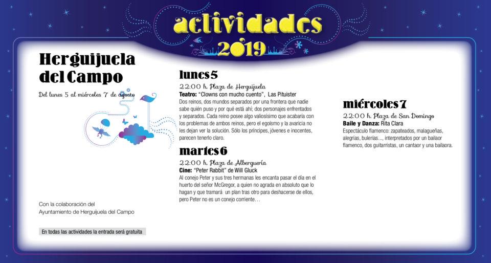 Herguijuela del Campo Noches de Cultura Agosto 2019