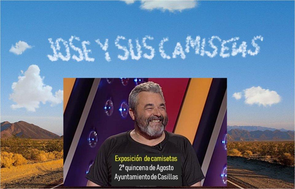 Casillas de Flores José y sus camisetas Agosto 2019