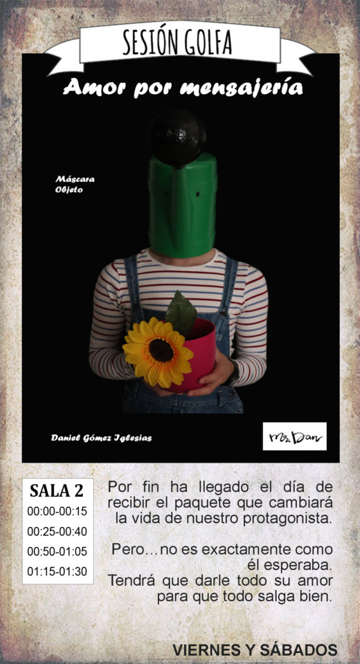 La Malhablada Amor por mensajería Sesión Golfa Salamanca Agosto 2019