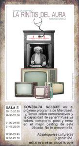 La Malhablada La rinitis del aura Salamanca Agosto 2019