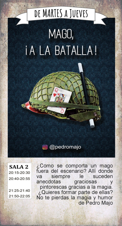 La Malhablada Mago, ¡a la batalla! Salamanca Agosto 2019