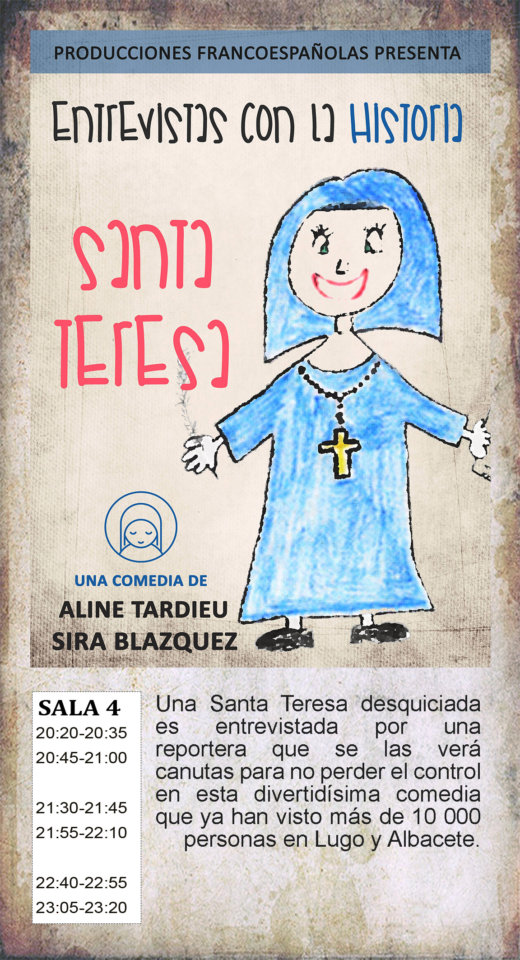 La Malhablada Santa Teresa Salamanca Agosto 2019