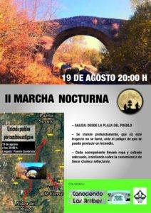 La Puente Quebrá II Marcha Nocturna Agosto 2019