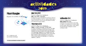 Martiago Noches de Cultura Agosto 2019