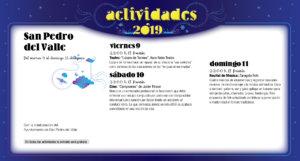 San Pedro del Valle Noches de Cultura Agosto 2019