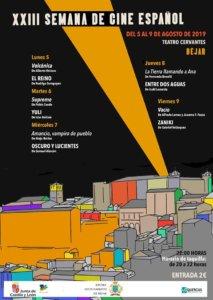 Teatro Cervantes XXIII Semana de Cine Español Béjar Agosto 2019
