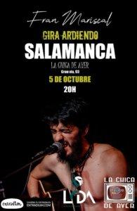 La Chica de Ayer Fran Mariscal Salamanca Octubre 2019