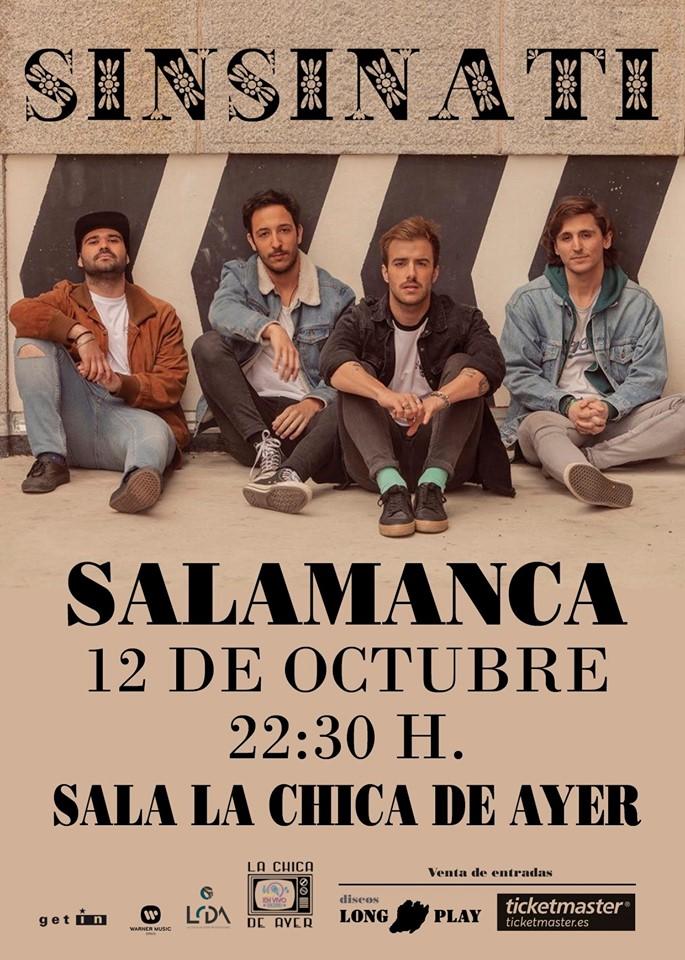 La Chica de Ayer Sinsinati Salamanca Octubre 2019