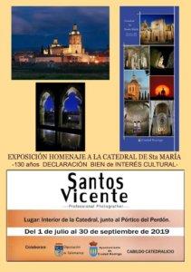Ciudad Rodrigo Homenaje a la Catedral de Santa María Julio agosto septiembre 2019