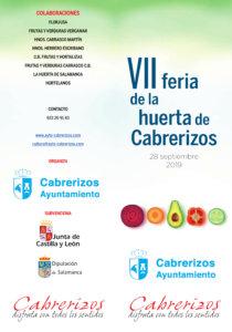 Cabrerizos VII Feria de la Huerta Septiembre 2019