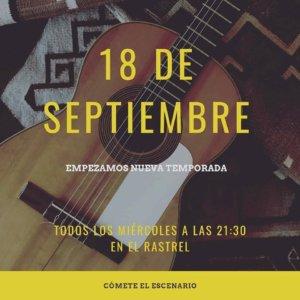 El Rastrel Cómete el escenario Salamanca 2019-2020