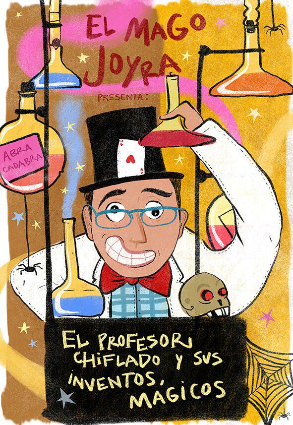 Ferias y Fiestas 2019 El profesor Chiflado y sus inventos mágicos Salamanca Septiembre
