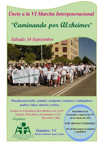 Ferias y Fiestas 2019 VI Marcha Intergeneracional Salamanca Septiembre