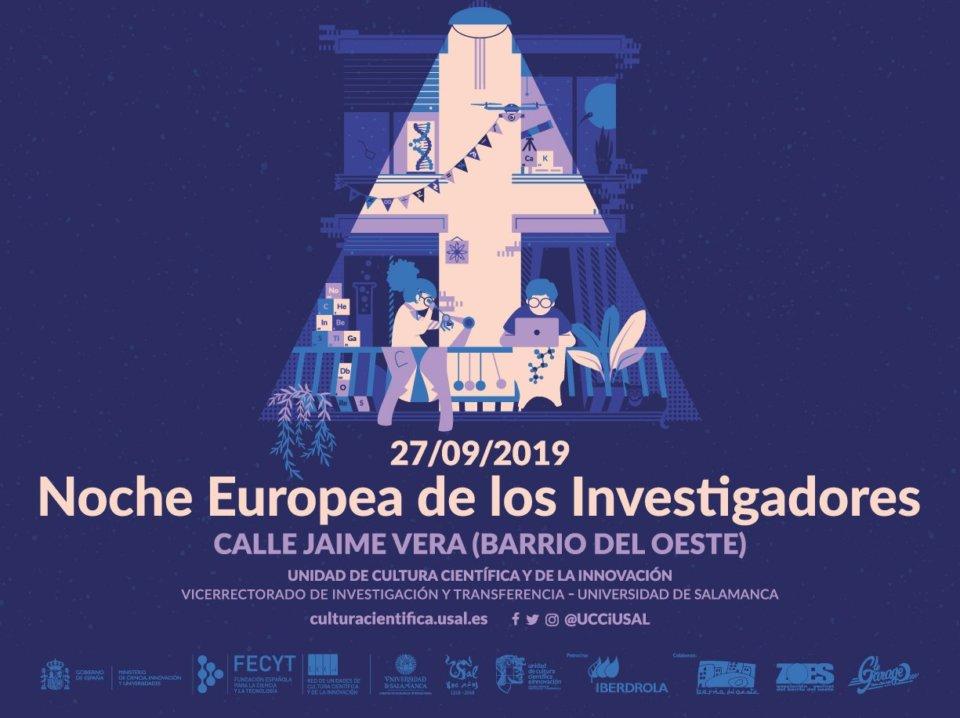 Jaime Vera Noche Europea de los Investigadores Salamanca Septiembre 2019