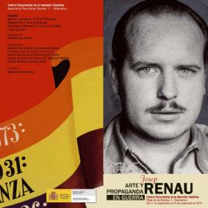 Centro Documental de la Memoria Histórica CDMH Josep Renau arte y propaganda en guerra Salamanca 2019