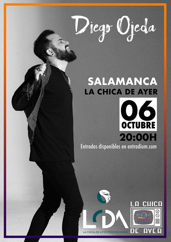 La Chica de Ayer Diego Ojeda Salamanca Octubre 2019