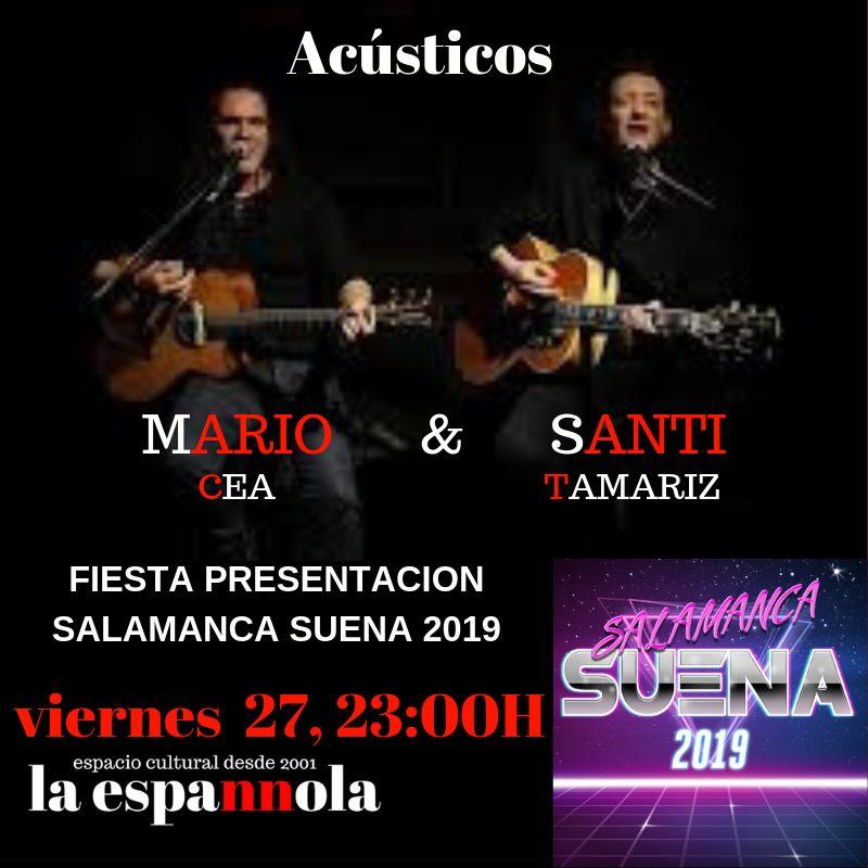 La Espannola Mario Cea & Santi Tamariz Salamanca Septiembre 2019
