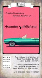 La Malhablada Armadas y deliciosas Salamanca Octubre 2019