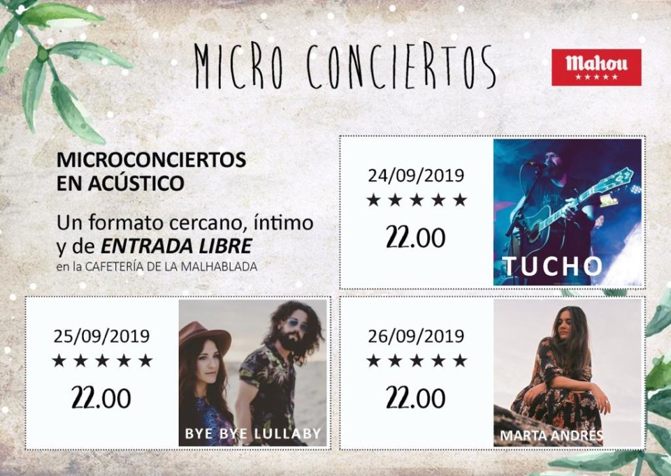 La Malhablada II Festival de Microteatro Micro Conciertos Salamanca Septiembre 2019