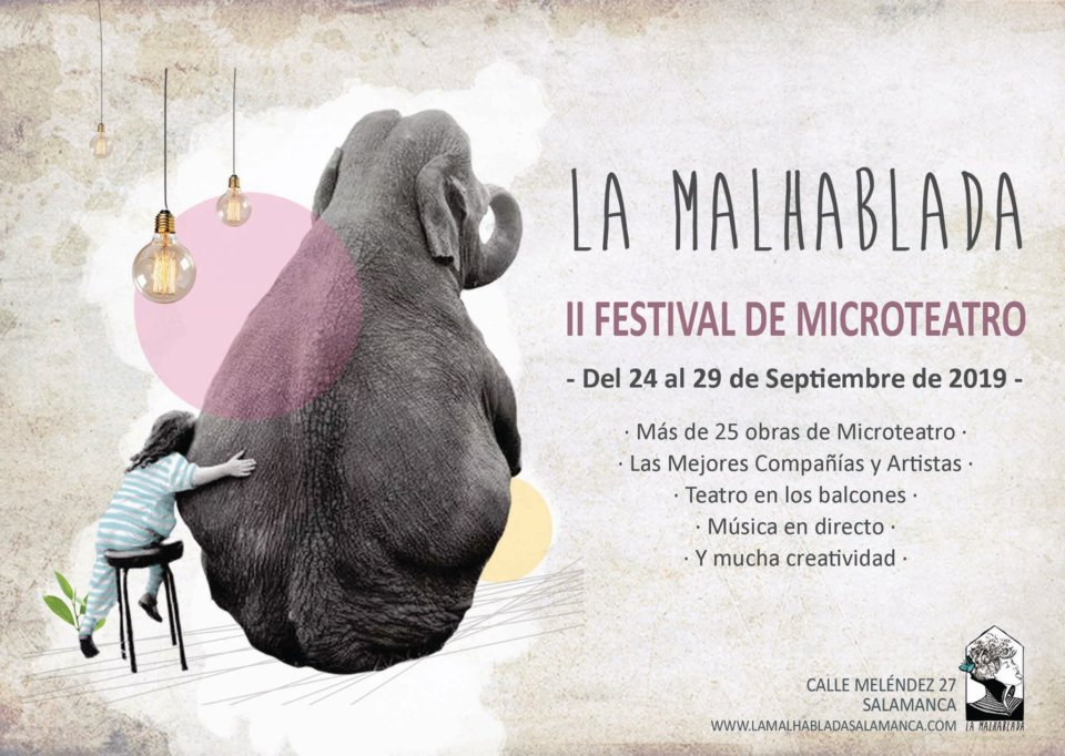 La Malhablada II Festival de Microteatro Salamanca Septiembre 2019