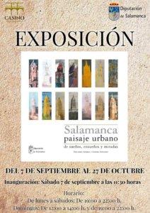 Palacio de Figueroa Salamanca Paisaje Urbano Septiembre octubre 2019