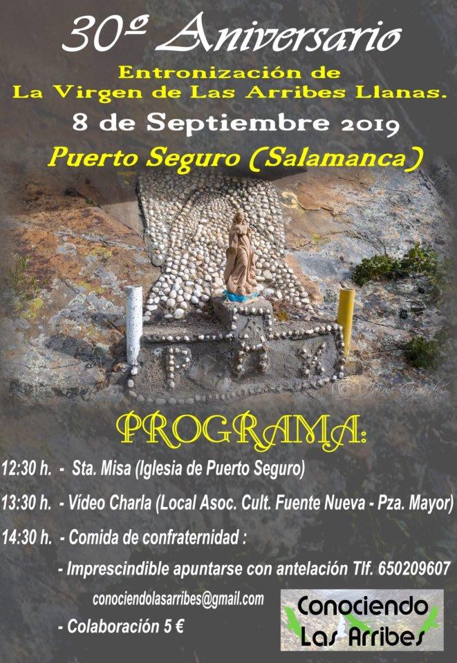 Puerto Seguro Entronización de la Virgen de Las Arribes LLanas Septiembre 2019