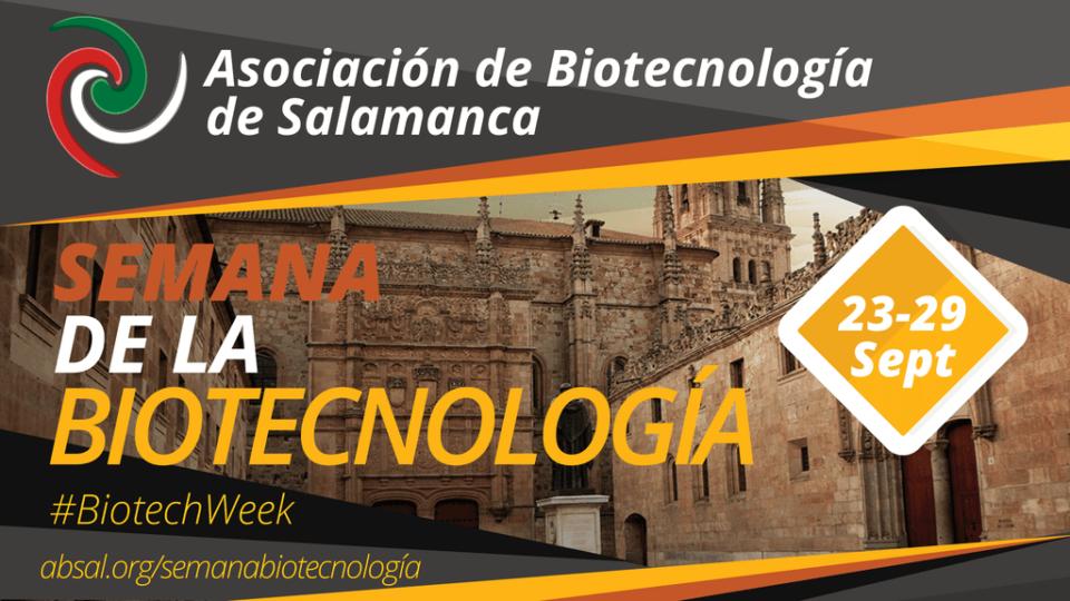 Semana de la Biotecnología Salamanca Septiembre 2019