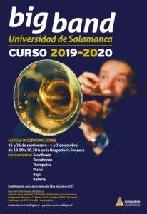 ¿Te apuntas a la Big Band de la Universidad de Salamanca para el curso 2019-2020