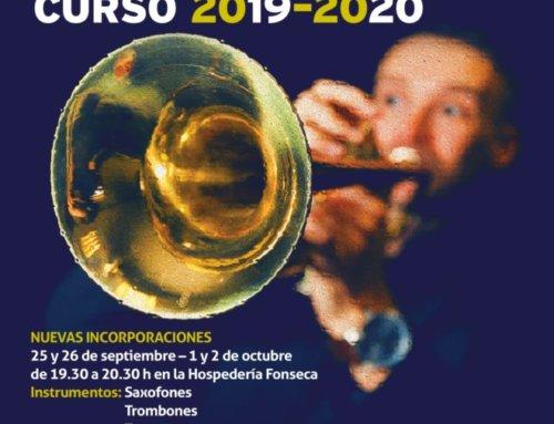 ¿Te apuntas a la Big Band de la Universidad de Salamanca para el curso 2019-2020?