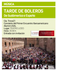 Teatro Liceo Grupo Trova 21 Salamanca Octubre 2019