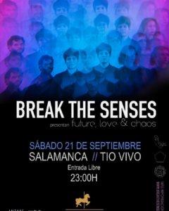 Tío Vivo Break the Senses Salamanca Septiembre 2019