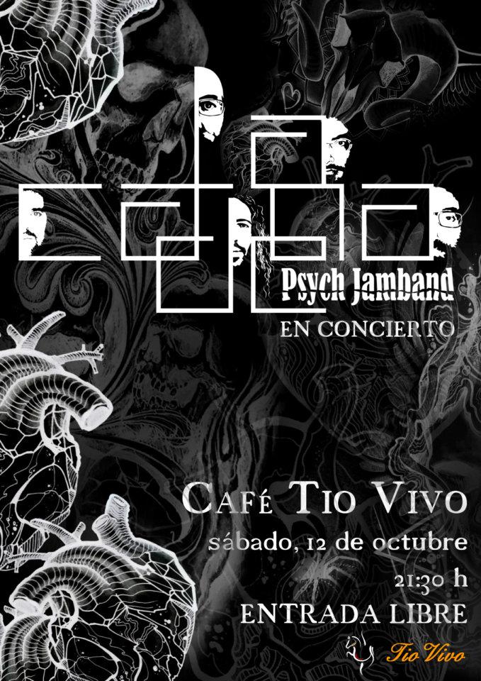Tío Vivo La Cadena Psych Jamband Salamanca Octubre 2019